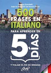 500 frases en italiano para aprender en 5 dâias
