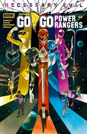 Saban's go go power rangers. Issue 22 cover image