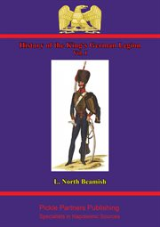 History Of The King's German Legion Vol cover image