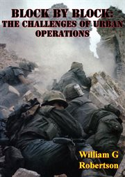 Block by block: the challenges of urban operations cover image
