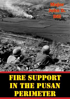 Cover image for Fire Support In The Pusan Perimeter