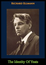The identity of Yeats cover image