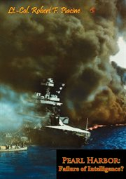 Pearl Harbor: failure of intelligence? cover image