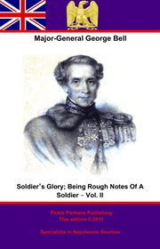 Soldier's glory, volume ii cover image