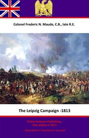 The leipzig campaign - 1813 cover image
