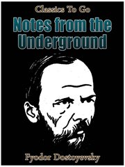 Notes from underground cover image