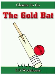The gold bat cover image