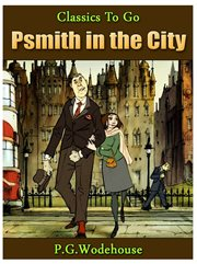 Psmith in the city cover image