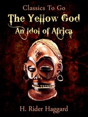 The yellow god cover image