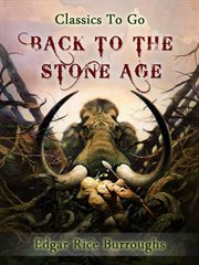 Back to the stone age cover image