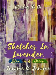 Sketches in lavender, blue and green cover image