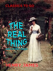 The real thing and other tales cover image