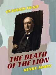 The Death of the lion cover image