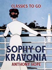 Sophy of Kravonia cover image