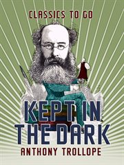 Kept in the dark cover image