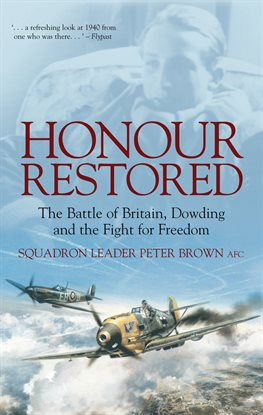 Cover image for Honour Restored