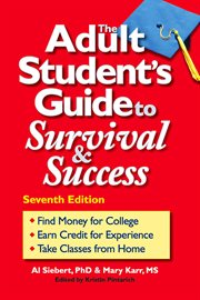 The adult student's guide to survival & success cover image