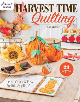 Cover image for Harvesttime Quilting