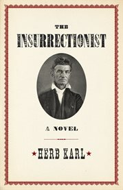 The insurrectionist: a novel cover image