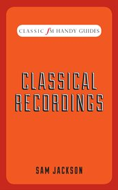Classical Recordings cover image