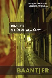 DeKok and the death of a clown cover image