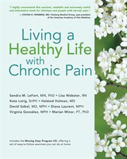 Living a healthy life with chronic pain cover image