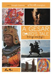A Gesar bard's tale cover image
