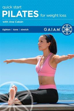 Gaiam: Pilates de inicio rápido para bajar de peso, portada del libro