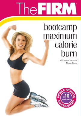 The Firm Bootcamp Maximum Calorie Burn, portada del libro