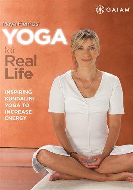 Maya Fiennes Yoga For Real Life, portada del libro