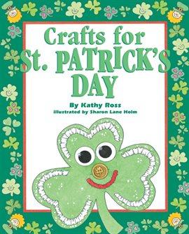 Manualidades para el día de San Patricio de Kathy Ross, portada del libro