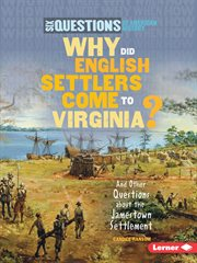 Why Did English Settlers Come to Virginia?