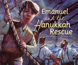 Cover image for Emanuel and the Hanukkah Rescue
