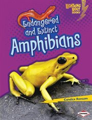 Endangered and extinct amphibians cover image