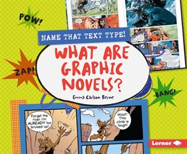 Cover image for What Are Graphic Novels?