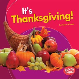 It's Thanksgiving!, book cover