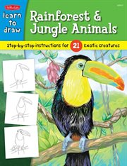 Learn to Draw Rainforest & Jungle Animals