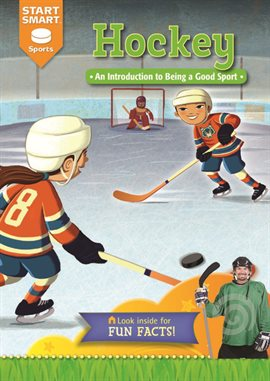 Hockey by Aaron Derr, book cover