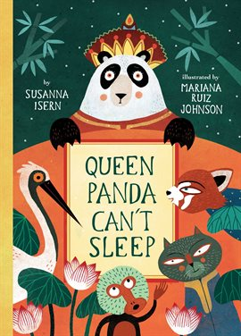 Cover image for Queen Panda Can't Sleep
