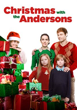 Cover image for Christmas with the Andersons