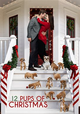 12 Pups for Christmas image cover