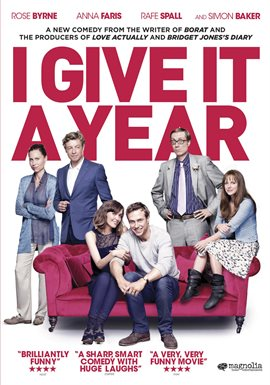 Cover image for I Give it a Year