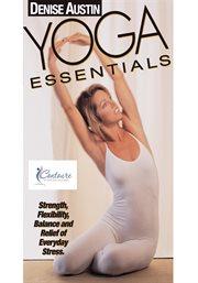 Denise Austin yoga essentials cover image