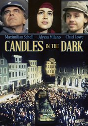 Candles in the dark cover image