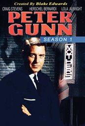 Peter Gunn. Season one cover image