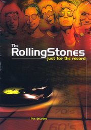 The Rolling Stones: just for the record. The nineties cover image