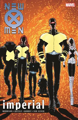 Cover image for New X-Men by Grant Morrison Vol. 2: Imperial