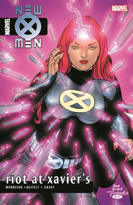 Cover image for New X-Men by Grant Morrison Vol. 4: Riot at Xavier's