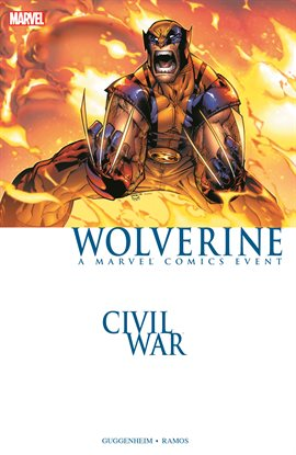 Cover image for Wolverine: Civil War