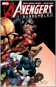 The Avengers disassembled. Issue 500-503 cover image